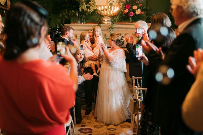Christening etc Wedding Exquisite Hand Embroidered Linen Handkerchief  Church
